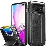 Best Vena Phone Car Holders - Vena Galaxy S10 Plus Wallet Case, [vCommute] [Military Review