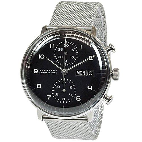 para Hombre Junghans MAX Bill Chronoscope automático cronógrafo Reloj 027/4500.45