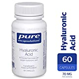 Pure Encapsulations - Hyaluronic Acid - High Absorption, Fermented, Low Molecular Weight Hyaluronic Acid - 60 Capsules