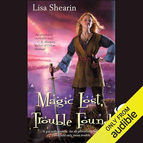 Magic Lost, Trouble Found audiobook cover art