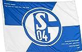Stockflagge FC Schalke 04 Erfolge - 60 x 90 cm + gratis Aufkleber, Flaggenfritze®