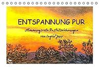 Entspannung pur, stimmungsvolle Pastellzeichnungen von Ingrid Jopp (Tischkalender 2022 DIN A5 quer): Arbeiten mit Pastellkreide der Malerin Ingrid Jopp (Monatskalender, 14 Seiten )