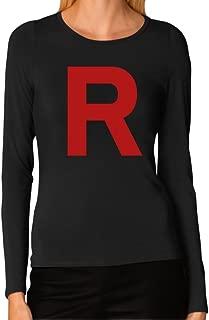 TeeStars Women's - Rocket Inspired Long Sleeve T-Shirt