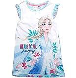Frozen Nachthemd Nachtkleid Mädchen Disney (110-116, Blau/Blue)