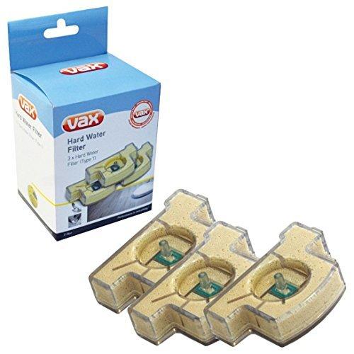 Genuine Vax S2 Steam Cleaner Mop Type 1 Hard Water Filter Cartridge (Pack of 3)