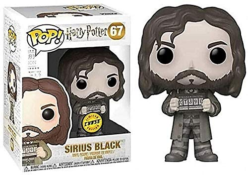 MNZBZ Pop Sirius Black Figuras de Vinilo Figura de Harry Potter Figuras Adornos de munecas Coleccionistas Multicolor Grande- 3.75 Pulgadas para ninos