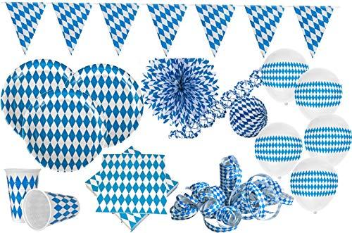 XXL Bavaria Party Deko Set Oktoberfest für 20 Personen