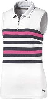 Women's 576157 Road Map Sleeveless Polo Shirt, Small, Magenta Haze