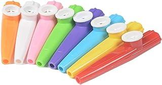 10 Pcs Plastic Kazoos Musical Instruments Kazoo Flute Diaphr