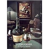 RelicPaper 1985 Courvoisier: Le Cognac de Napoleon, Courvoisier Print Ad
