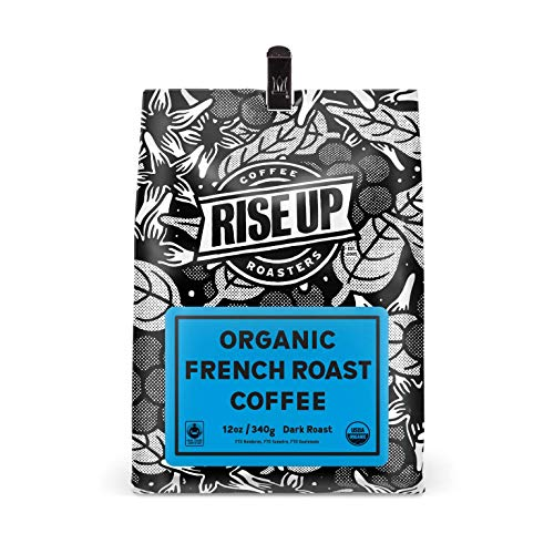 Organic French Roast, Certified Fair Trade Organic Coffee, 12 oz, Whole Bean