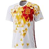 adidas FEF A JSY Camiseta Selección Española de Futbol 2ª Equipación 2015/2016, Hombre, Blanco/Rojo/Amarillo, 2XL