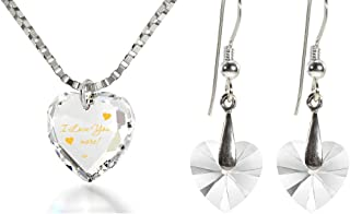 i love you more jewelry silver