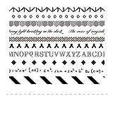 AUBERSIT 10 unids/Lote Cinta Adhesiva Decorativa Washi, Pegatinas de Suministros para álbumes de Recortes, E