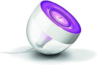 Philips Hue Iris Lámpara de Mesa Inteligente LED, Luz Blanca y de Colores, Compatible con Alexa y Google Home