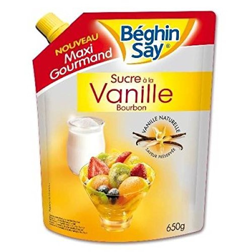 Beghin Say - say sucre aromatise vanille bourbon doypack - 650g