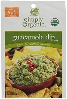 Simply Organic Organic Guacamole Dip (12x.8 OZ) ( Value Bulk Multi-pack)
