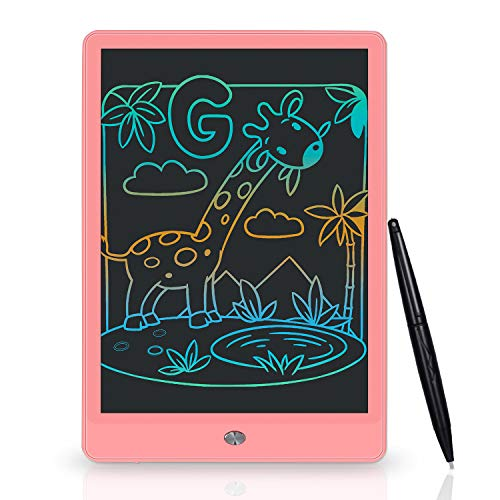 15-Inch Digital Tablet LCD Writing Tablet Graphics Tablet Childrens Drawing Board Doodle Hand-Painted Color with Stylus,Blue Donteec Drawing Board for Kids