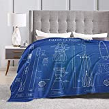 Peyolad Soft Flannel Coperte da Letto Soft Throw-Blankets...