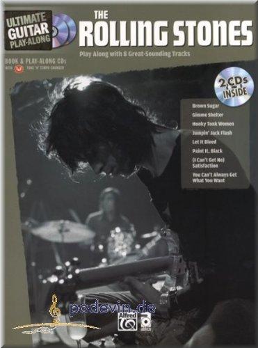 Rolling Stones - Ultimate Guitar Play-Along - Gitarre Noten | ©podevin-de [Musiknoten]