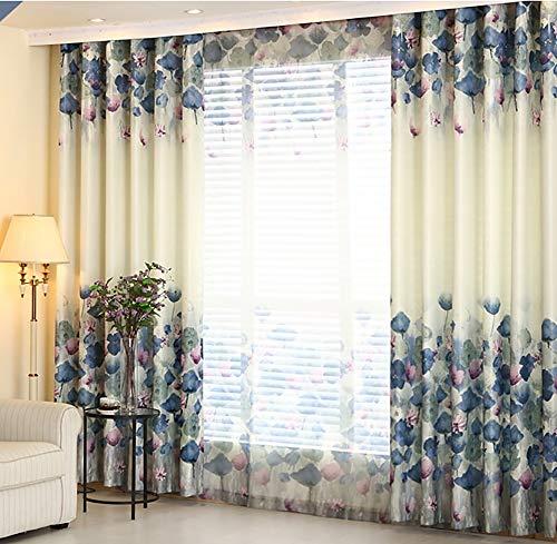 Verduisteringsgordijnen 1 panelen raambehandeling massief oogje donker gordijn inkt schilderen venster gordijn gordijnen gemakkelijk zorg voor woonkamer slaapkamer kinderkamer