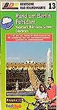 Deutsche Radtourenkarte, Bl.13, Rund um Berlin, Potsdam (Deutsche Radtourenkarten / 1:100000) -