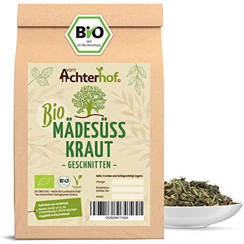 Mädesüß-Tee BIO (100g) geschnitten getrocknet Mädesüss-Tee BIO echtes Mädesüßkraut vom-Achterhof