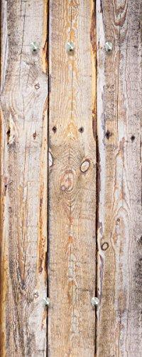 Eurographics Timber 50x125 Garderobe, Glas, braun, 125 x 50 x 3.5 cm