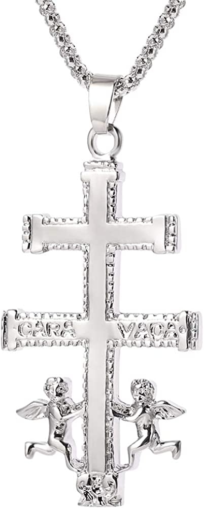 SWAOOS Elegant Cross Pendant Ranking TOP20 Chain New Orleans Mall Necklace for Minimalist Women