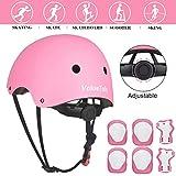Best Bike Helmet For Kids - ValueTalks Kid's Protective Gear Set, Kids Helmet Adjustable Review