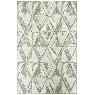 Mohawk Home Prismatic Trilateral Marbelized Geometric Prism Printed Contemporary Area Rug, 8'x10', Gray (B07CH64THH) | Amazon price tracker / tracking, Amazon price history charts, Amazon price watches, Amazon price drop alerts