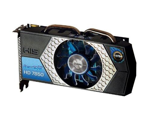 HIS H785QNT2G2M Radeon HD7850 2GB GDDR5 Grafikkarte - Grafikkarten (Radeon HD7850, 2 GB, GDDR5, 256 Bit, 4096 x 2160 Pixel, PCI Express 3.0)