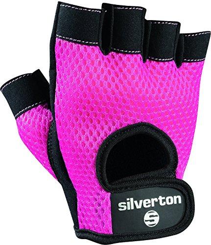 Silverton Damen Handschuhe Lady, pink/schwarz, M