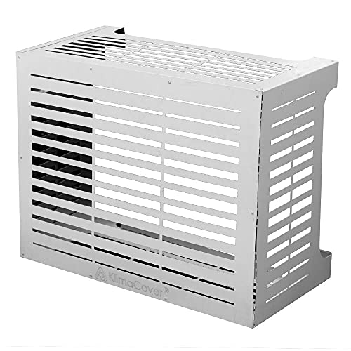 Copri Condizionatore in Alluminio 86x44x68 cm Linear M Bianco