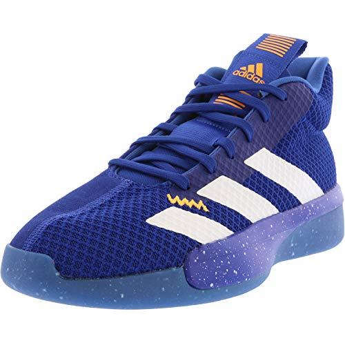 adidas Men's Pro Next 2019 Basketball Shoe, Collegiate Royal/White/Blue, 9.5 M US