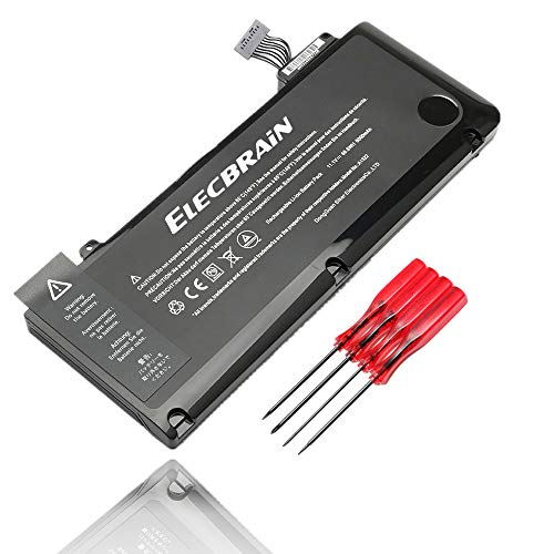 New A1322 Battery for MacBook Pro 13 inch A1278 A1322 [2009 2010 2011 Version] Battery 020-6547-A 661-5229 661-5557 with Four Free Screwdrivers [11.1V 66.6mAh]