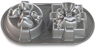 NordicWare 84848 Moule à gâteau Pretty Presents, Fonte d'Aluminium