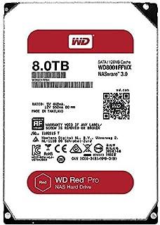 Western Digital 西部数据 PRO Cache NAS 网络附属存储 红色 8TB