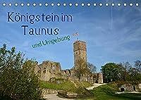 Koenigstein im Taunus und Umgebung (Tischkalender 2022 DIN A5 quer): Koenigstein, das kleine Staedtchen mit Flair - eingebettet in eine wunderschoene Taunuslandschaft (Monatskalender, 14 Seiten )
