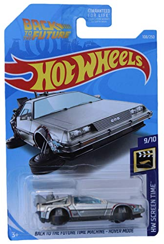 Hot Wheels Super Treasure Hunt Back to The Future Time Machine Hover Mode