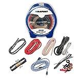 Blaupunkt AMK88R Car Audio Amplifier 8 Gauge Wiring Kit RED