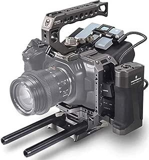Tilta Camera Cage TA-T01-A-G BMPCC 4K Blackmagic Pocket Cinema Camera 4K Rig Gray (Tactical Kit)