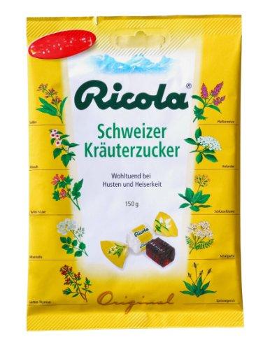 Ricola Kräuter Bonbons mit Zucker, 75 g