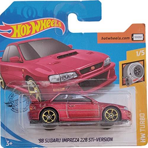Hot Wheels '98 Subaru Impreza 22B STI-Version 1/5 HW Turbo 23/250 2020
