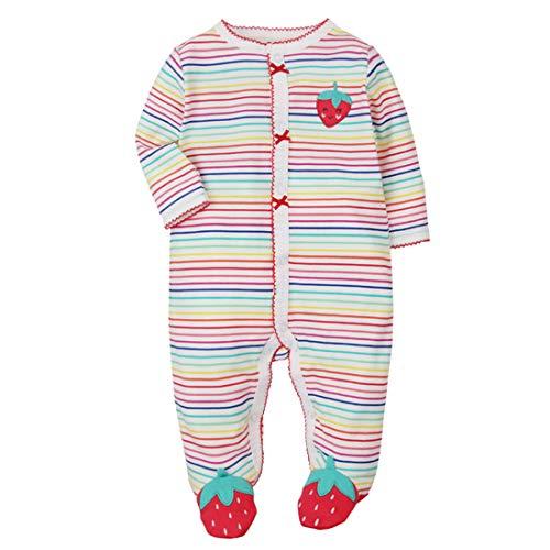 CARETOO CARETOO Unisex Baby Schlafstrampler Bärchen, Baumwoll Strampler,Multicolor, Gr. 6 Monate