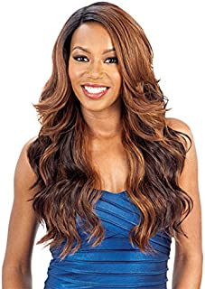 Model Model Synthetic Lace Front Deep Invisible L Part Wig - Alpine Meadow-OM430P