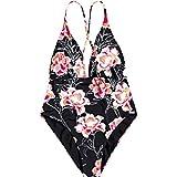 Roxy Junior's Beach Classics One Piece Swimsuit, Anthracite Zilla Sample, L