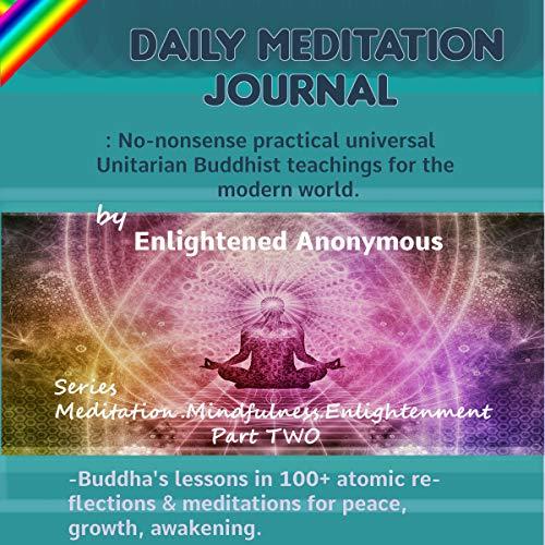 Daily Meditation Journal audiobook cover art