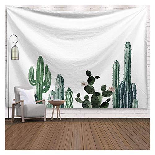 MYBHD Decoración de la Pared suculentas Verdes Cactus Tapiz Verano (Color : 3, Size : 150x130cm)