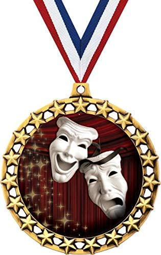 Drama Mask Medal 2 1 2